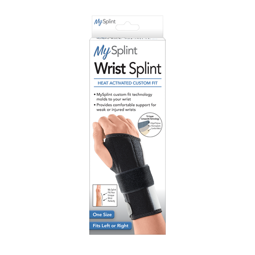 custom fit wrist splint